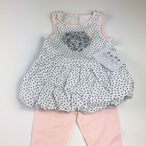 NWT Pippa and Julie hautelook 2 pc outfit 18M